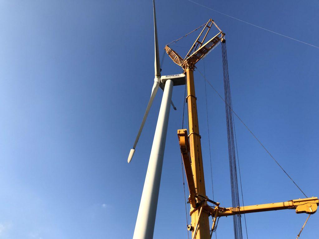 Turbine Eoliene, tip Nordex  N62, cu o putere de 1300 kW
